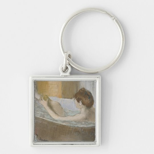 Edgar Degas | Woman in her Bath, Sponging her Leg Keychain