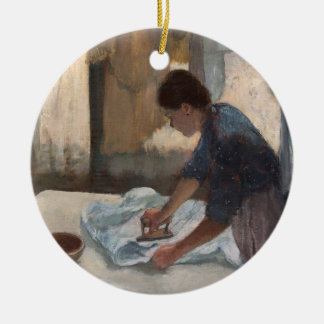 Edgar Degas | Woman Ironing, c.1876-87 Ceramic Ornament