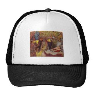 Edgar Degas Woman @ Toilet Brush Hair 1894 Vanity Trucker Hat
