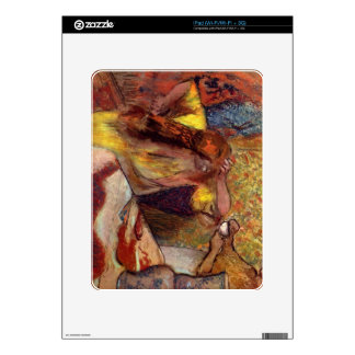 Edgar Degas - Women at the toilet iPad Decals