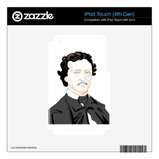Edgar Poe iPod Touch 4G Skin