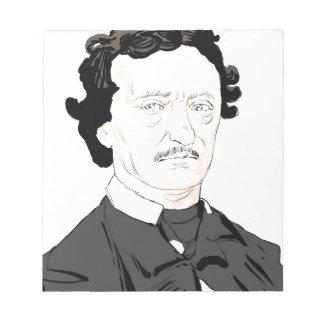 Edgar Poe Notepad