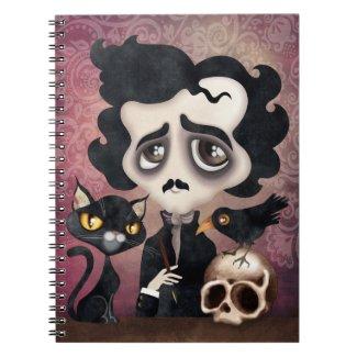 Edgar Poet Spiral Notebook