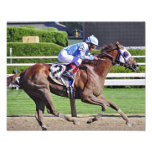 Edgar Prado- Derby winning Jockey Photo Print