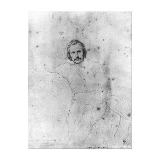 Edgar Quinet, 1833 Canvas Print