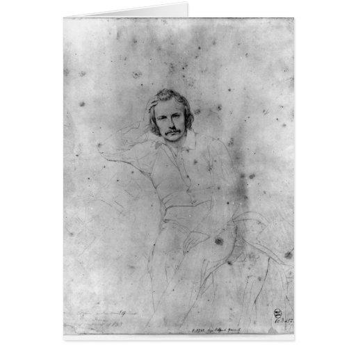 Edgar Quinet, 1833 Card