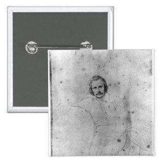 Edgar Quinet, 1833 Pinback Button