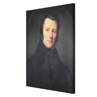 Edgar Quinet Canvas Print