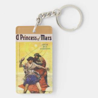 Edgar Rice Burroughs Princess of Mars Keychain