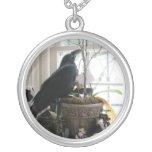 Edgar the raven necklase pendants