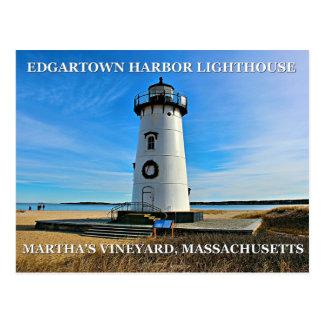 Edgartown Harbor Lighthous, Massachusetts Postcard