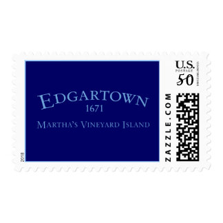 Edgartown Incorporated 1671 Postage Stamp