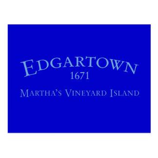 Edgartown Incorporated 1671 Postcard