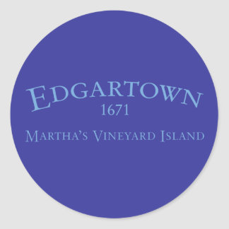Edgartown Incorporated 1671 Sticker