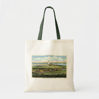 Edgartown Lighthouse Martha's Vineyard c1925 Canvas Bag
