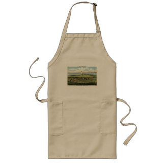 Edgartown Lighthouse Martha's Vineyard c1925 Long Apron