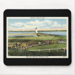 Edgartown Lighthouse Martha's Vineyard c1925 Mouse Pad