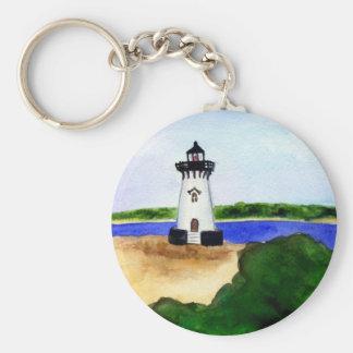 Edgartown Lighthouse Martha's Vineyard Keychains