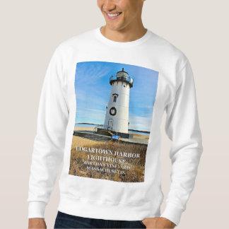 Edgartown Lighthouse, Martha's Vineyard Mass Sweatshirt