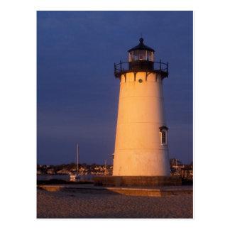 Edgartown Lighthouse Marthas Vineyard Postcard
