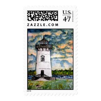 Edgartown Lighthouse Marthas Vineyard Stamps