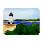 Edgartown Lighthouse Rectangle Magnet