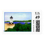 Edgartown Lighthouse Stamp