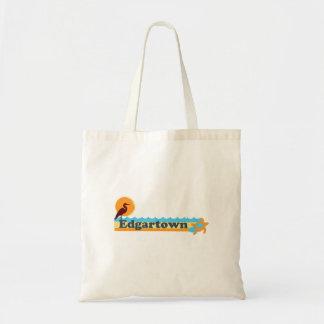 Edgartown MA - Beach Design. Canvas Bag