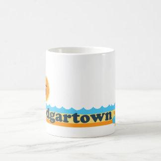 Edgartown MA - Beach Design. Coffee Mug