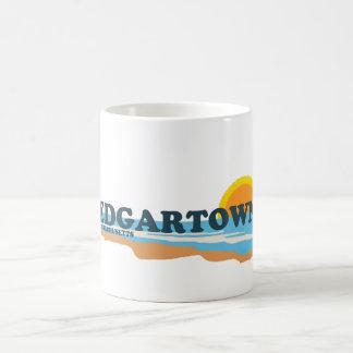 Edgartown MA - Beach Design. Classic White Coffee Mug