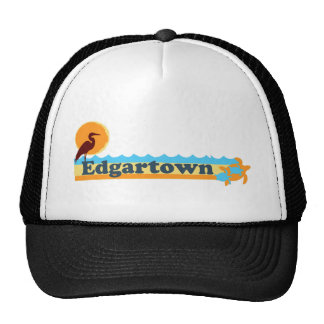 Edgartown MA - Beach Design. Trucker Hat