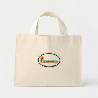 Edgartown mA - Diseño oval Bolsa Tela Pequeña