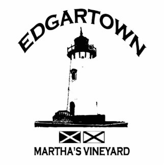 Edgartown MA - Lighthouse Design Photo Cut Out