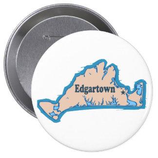 Edgartown MA - Map Design. Button