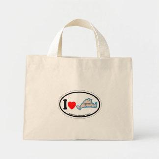 Edgartown MA - Oval Design. Canvas Bags