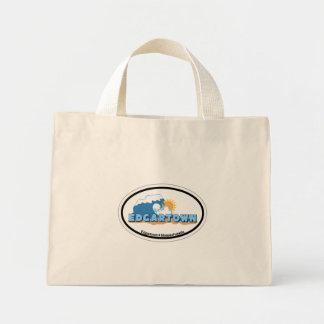 Edgartown MA - Oval Design. Canvas Bag