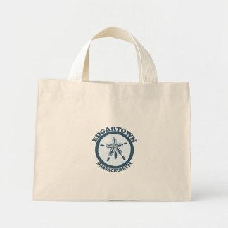 Edgartown MA - Sand Dollar Design. Canvas Bag
