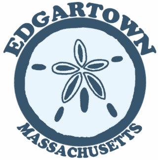 Edgartown MA - Sand Dollar Design. Statuette