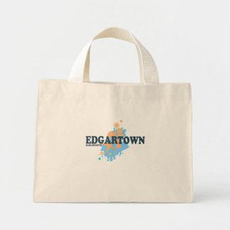 Edgartown MA - Seashell Design. Canvas Bag