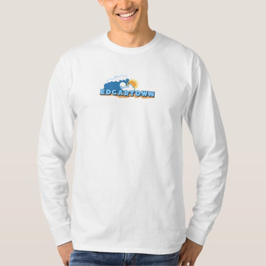 Edgartown MA - Waves Design. T-Shirt