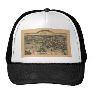 Edgartown, Massachusetts in 1886 Trucker Hat