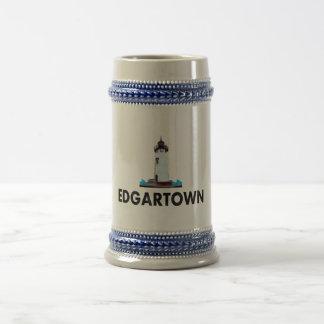 Edgartown. 18 Oz Beer Stein