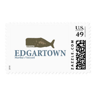Edgartown. Postage Stamp