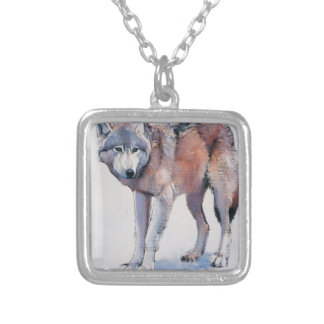 Edge 2001 silver plated necklace