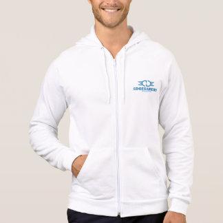 EDGE Blue Logo American Apparel Zip Hoodie