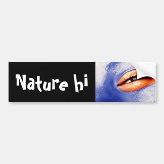 edge of blind laughter bumper sticker