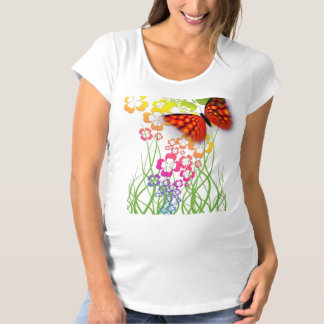 Edge of Butterfly Maternity T-Shirt