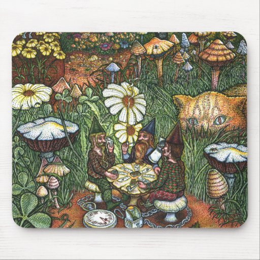 Edge Of Fairy Ring Mouse Pad