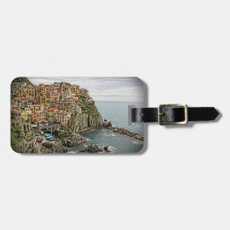 Edge of Italy - Manarola - Luggage Tag