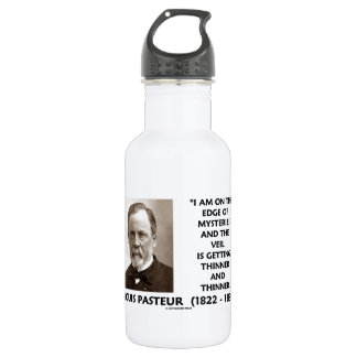 Edge Of Mysteries Veil Getting Thinner Pasteur Stainless Steel Water Bottle